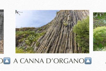 I 3 tipi di basalti colonnari:
