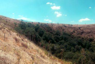 Il cono vulcanico di Monte Mojo