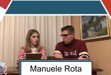 4 chiacchiere con Manuele Rota